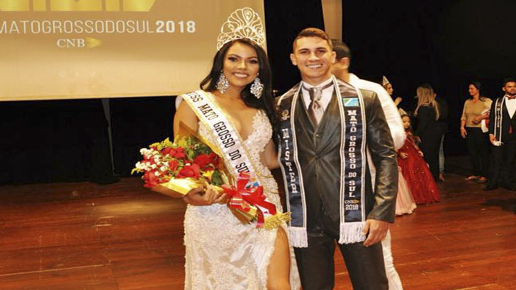 Ingrid Matzembacher é eleita Miss Mato Grosso do Sul CNB 2018